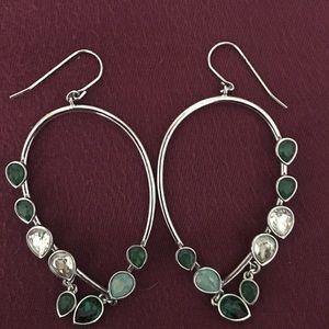 Swarovski chandelier earrings. Retired design.